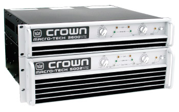 Crown Macro-tech Amplifier Stack - Horizon Entertainment DJ