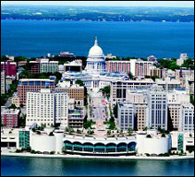 Madison Wisconsin Weddings Receptions - Monona Terrace, Madison, WI