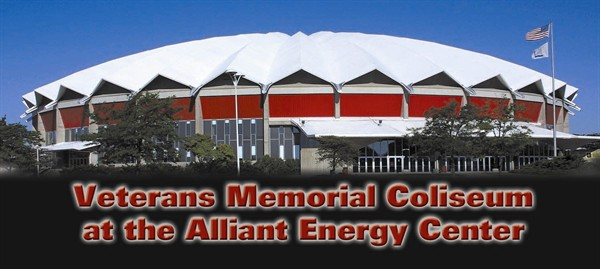 Veterans Memorial Coliseum, Dance County, Wisconsin